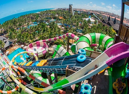 Beach Park Parque Aquático 6 dias